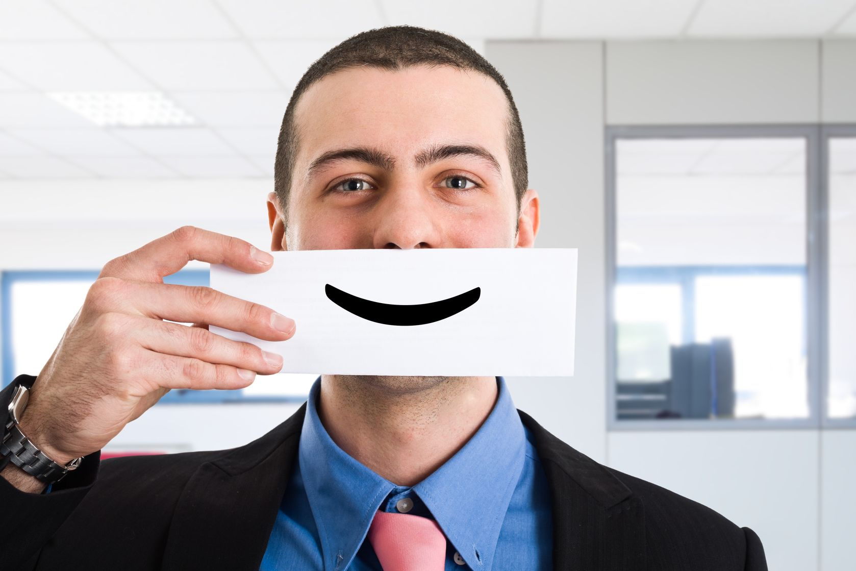 Customer Service Essential: Smiling Like You Mean It!